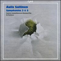 Aulis Sallinen: Symphonies 3 & 5 - Rheinland-Pfalz Staatsphilharmonie; Ari Rasilainen (conductor)