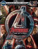 Avengers: Age of Ultron [SteelBook] [Digital Copy] [4K Ultra HD Blu-ray/ Blu-ray] [Only @ Best Buy] - Joss Whedon