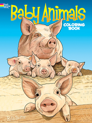 Baby Animals Coloring Book - Soffer