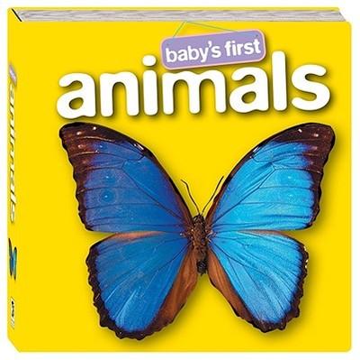 Baby's First Animals - Hinkler Books (Creator)