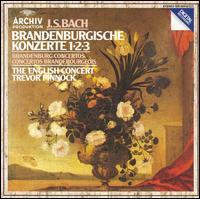 Bach: Brandenburg Concertos Nos. 1-3 - The English Concert; Trevor Pinnock (harpsichord)