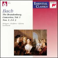 Bach: Brandenburg Concertos, Vol. 1: Nos. 1-3 - Ab Koster (natural horn); Alda Stuurop (baroque violin); Anner Bylsma (baroque violin); Anthony Woodrow (violone);...