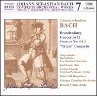 Bach: Brandenburg Concertos, Vol. 2 - Christine Pichlmeir (violin); Corinne Chapelle (violin); Daniel Rothert (recorder); Eva Morsbach (recorder);...