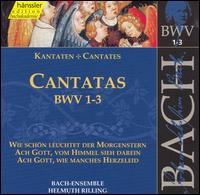 Bach: Cantatas, BWV 1-3 - Adalbert Kraus (tenor); Aldo Baldin (tenor); Arleen Augér (soprano); Gabriele Schreckenbach (alto); Helen Watts (alto);...