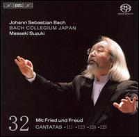 Bach: Cantatas, Vol. 32 - BWV 111, 123, 124 and 125 - Andreas Weller (tenor); Bach Collegium Japan Orchestra; Peter Kooij (bass); Robin Blaze (counter tenor);...