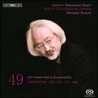Bach: Cantatas, Vol. 49 - Bach Collegium Japan; Gerd Türk (tenor); Masamitsu San'nomiya (oboe); Masato Suzuki (organ); Natsumi Wakamatsu (violin);...