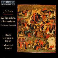 Bach: Christmas Oratorio - Gerd Türk (tenor); Monika Frimmer (soprano); Peter Kooij (bass); Yoshikazu Mera (counter tenor);...