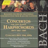 Bach: Concertos for Three and Four Harpsichords, BWV 1063-1065 - Boris Kleiner (cembalo); Isabelle Faust (violin); Jean-Claude Gérard (violin); Mario Videla (cembalo);...