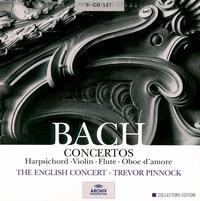 Bach: Concertos - David Reichenberg (oboe); Elizabeth Wilcock (violin); Kenneth Gilbert (harpsichord); Lars Ulrik Mortensen (harpsichord);...