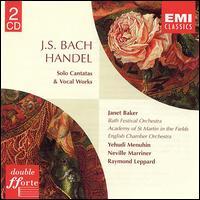 Bach, Handel: Solo Cantatas & Vocal Works - Celia Nicklin (oboe); Celia Nicklin (oboe d'amore); Edward Beckett (flute); Jane Ryan (viola da gamba);...