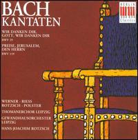 Bach: Kantaten, BWV 29 & 119 - Almuth Reuther (organ); Gerhard Bosse (violin); Gunther Stephan (cello); Hannes Kästner (organ);...