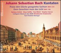 Bach: Kantaten - Barbara Schlick (soprano); Paul Elliott (tenor); Stephen Varcoe (bass); Windsbacher Knabenchor (choir, chorus);...