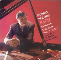Bach: Keyboard Concertos Nos. 3, 5, 6, 7 - David Miller (archlute); David Miller (theorbo); Murray Perahia (piano); Academy of St. Martin-in-the-Fields;...