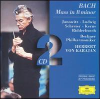 Bach: Mass in B minor [1974] - Christa Ludwig (contralto); Eberhard Finke (cello); Gerd Seifert (horn); Gundula Janowitz (soprano); Gunter Piesk (bassoon); Gunter Prill (flute); Heinrich Karcher (oboe d'amore); Henning Trog (bassoon); James Galway (flute); Karl Ridderbusch (bass)