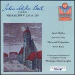 Bach: Masses, BWV 233 & 236