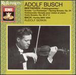 Bach: Partita No. 2; Beethoven: Violin Sonatas Nos. 5 & 7
