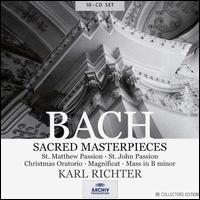 Bach: Sacred Masterpieces - Antonia Fahberg (soprano); Christa Ludwig (alto); Dietrich Fischer-Dieskau (bass); Ernst Haefliger (tenor);...