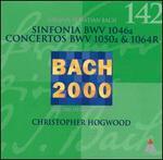 Bach: Sinfonia, BWV 1046a; Concertos, BWV 1050a & 1064R