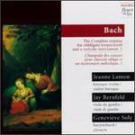 Bach: Sonatas Nos. 3-5