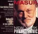 Bach: St. Matthew Passion; Debussy: Le Martyre de Saint Sébastien