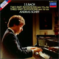 Bach: Two part Inventions; Three Part Inventions - András Schiff (piano)