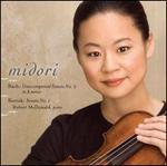 Bach: Unaccompanied Sonata No. 2 in A minor; Bartók: Sonata No. 1