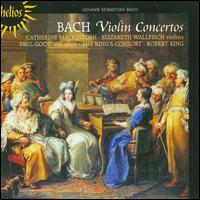 Bach: Violin Concertos - Catherine Mackintosh (violin); Elizabeth Wallfisch (violin); Paul Goodwin (oboe); The King's Consort; Robert King (conductor)