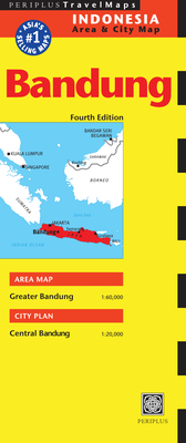 Bandung Travel Map Fourth Edition - Periplus Editors (Editor)