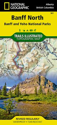 Banff North - National Geographic Maps