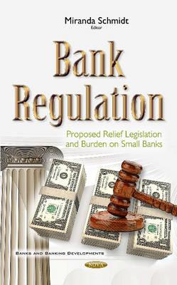 Bank Regulation: Proposed Relief Legislation & Burden on Small Banks - Schmidt, Miranda (Editor)