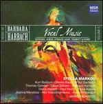 Barbara Harbach: Vocal Music