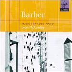 Barber: Music for Solo Piano