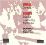 Barber: Souvenirs; Menotti: Sebastian; Amahl and the Night Visitors