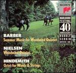 Barber: Summer Music; Nielsen: Woodwind Quintet: Hindemith: Octet for Winds & Strings