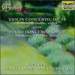 Barber: Violin Concerto; Piano Concerto