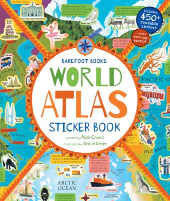 Barefoot Books World Atlas Sticker Book -