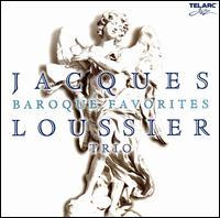 Baroque Favorites: Jazz Improvisations - Jacques Loussier Trio