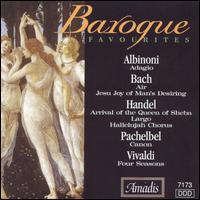 Baroque Favorites - Accademia Ziliniana; Anthony Camden (oboe); Bertalan Hock (organ); Budapest Strings; Camerata Cassovia;...