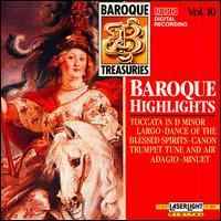 Baroque Highlights - Blechbläserensemble Ludwig Güttler; Budapest Strings; Burkhard Glaetzner (oboe); Christine Schornsheim (organ);...
