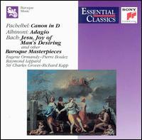 Baroque Masterpieces - E. Power Biggs (organ); Edward Carroll (trumpet); English Chamber Orchestra; Gerard Schwarz (trumpet);...