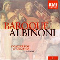 Baroque, Volume 1: Albinoni Concertos & Sonatas - English Chamber Orchestra (chamber ensemble); Guy Touvron (trumpet); Maurice André (trumpet); Pierre Pierlot (oboe);...