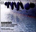 Barrière: Sonates pour le violoncelle avec la basse continue