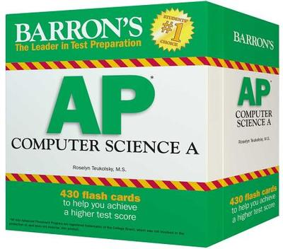 Barron's AP Computer Science A Flash Cards - Teukolsky, Roselyn
