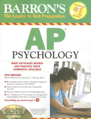 Barron's AP Psychology - McEntarffer, Robert, and Weseley, Allyson J