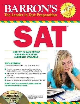 Barron's SAT - Green, Sharon Weiner, and Wolf, Ira K