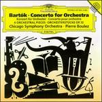 Bart�k: Four Orchestral Pieces; Concerto For Orchestra