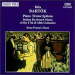Bartók: Piano Transcriptions