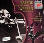 Bart�k: Violin Sonatas Nos. 1 & 2; Webern: 4 Pieces, Op. 7