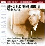 Bart�k: Works for Piano Solo, Vol. 5