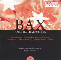 Bax: Orchestral Works, Vol. 5 - Malcolm Hicks (organ); London Philharmonic Orchestra; Bryden Thomson (conductor)
